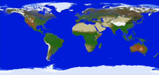1:4000 Scale Map of Earth (SMP Earth Map) (1.16+)