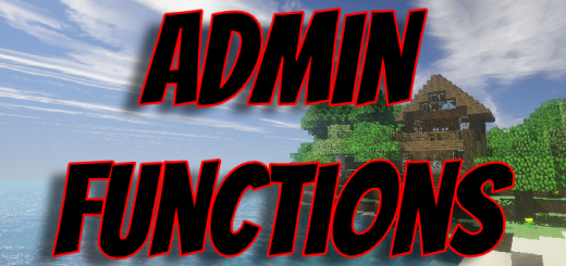 AdminFunctions 1.0.0