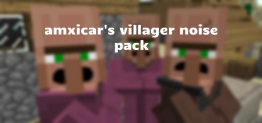 Amxicar's Villager Noises