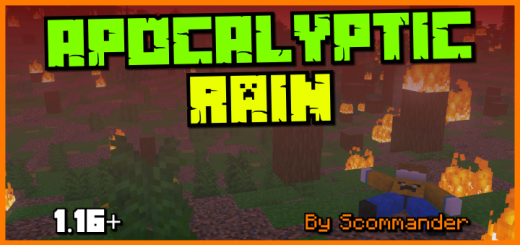 Apocalyptic Rain (Survival Friendly Challenge Pack) Addon