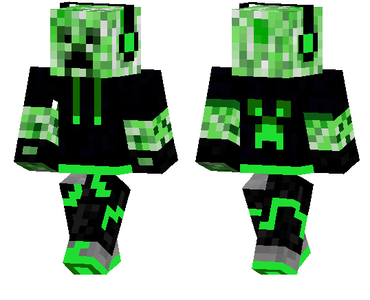 Cool Creeper Skin Minecraft Pe Skins