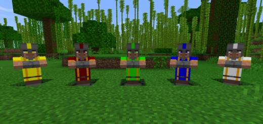 Elemental Villagers Add-on (Bedrock Edition)