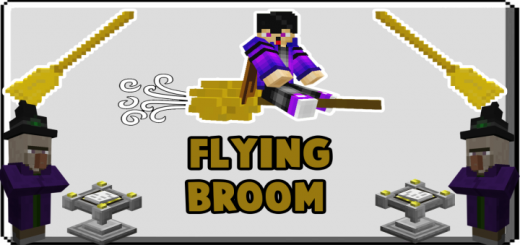 Flying Broom Addon