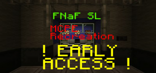 FNaF SL (MCPE Bedrock Edition Remake)