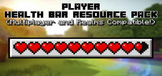 Health Bar Texture Pack (See Other's Health!)