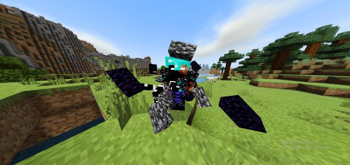 Herobrine Minecraft PE Mods Addons