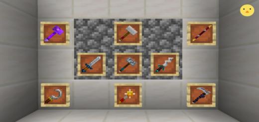 Minecraft Dungeon Weapons Addon