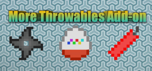 More Throwables Addon