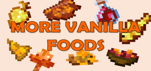 More Vanilla Foods (Vanilla+)