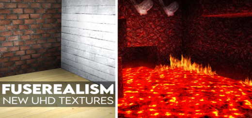 New UHD Textures | | FuseRealism Resource Pack