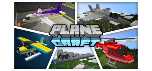 PlaneCraft Add-on (Plane & Helicopter)