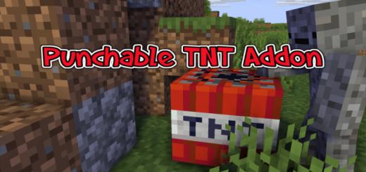 Punchable TNT Addon