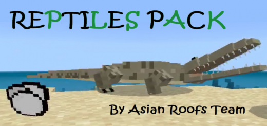 Reptiles Pack (by Asian Roofs Team)