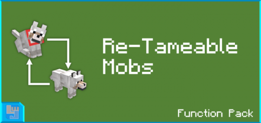 Re-Tameable Mobs Function Pack