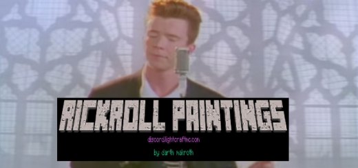 Rickroll Paintings