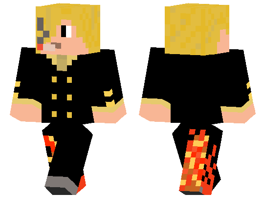 Sanji Minecraft Pe Skins