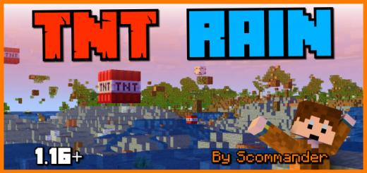 TNT Rain (Survival Friendly Challenge Pack) Addon