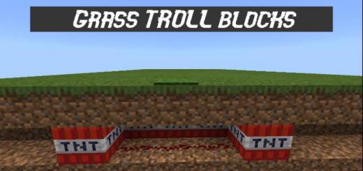 Trap Secret Grass Blocks!