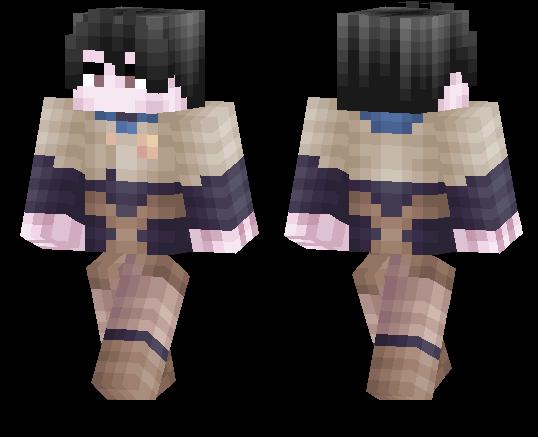 Yuno Black Clover Minecraft Pe Skins