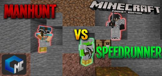 2 Manhunt VS Speedrunner (Map/Survival)