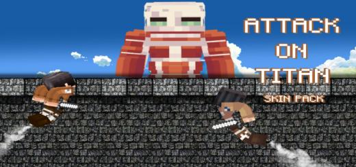 Attack On Titan Skin Pack