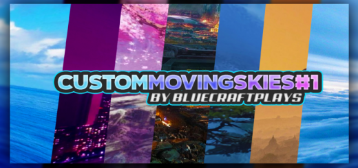 Custom Moving Skies #1 (Android/iOS/Win10) (FPS FRIENDLY)