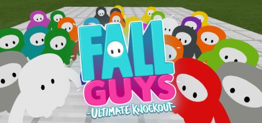 Fall Guys in Minecraft (Add-on)