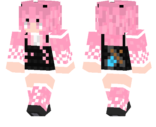 Girl in Overalls