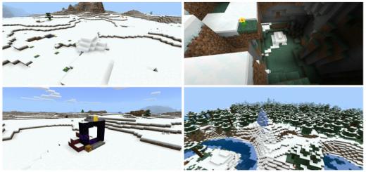Massive Tundra Seed in Minecraft (Seed)