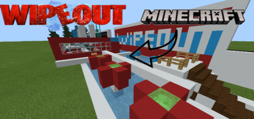 Minecraft Wipe Out Parkour Map