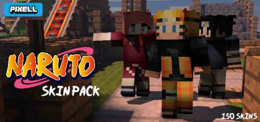 Naruto Skin Pack!