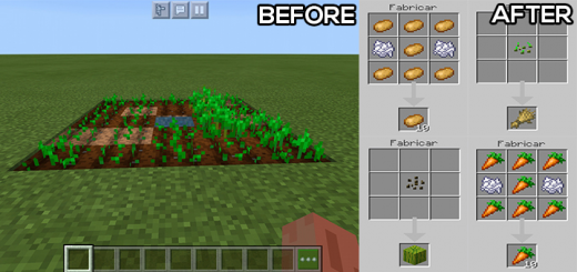 No More Crops Add-on (Normal World and Realms)