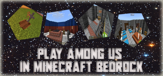 Play Among US in Minecraft PE!