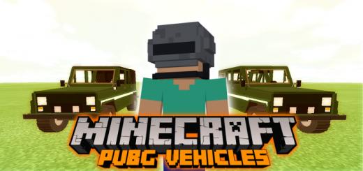 PUBG Vehicles Addon