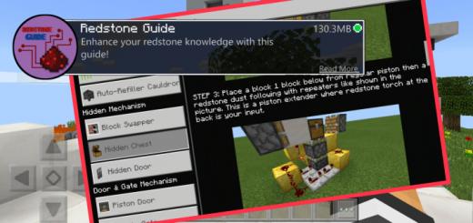 Redstone Guide Addon