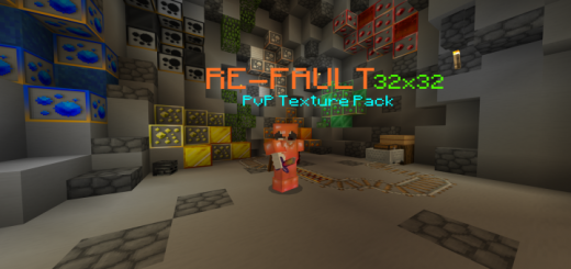 RE-FAULT PvP Texture Pack (32×32)