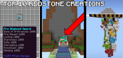 Top 10 Redstone Creation