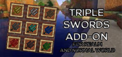 Triple Swords Add-on