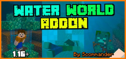 Water World (Survival Friendly Challenge Addon)