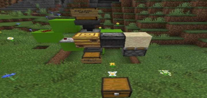 Auto Honey Farm Minecraft Pe Maps