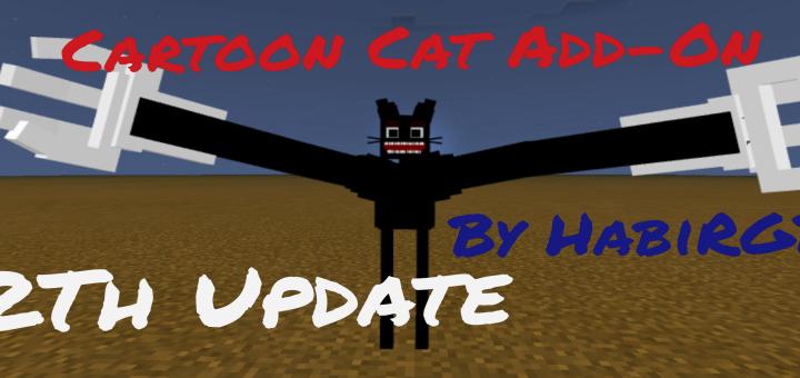 Cartoon Cat Add-On (New Cat Song Update) | Minecraft PE ...