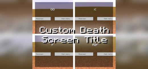 Custom Death Screen Title