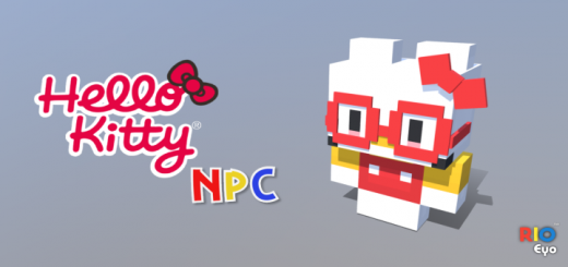 Hello Kitty NPC