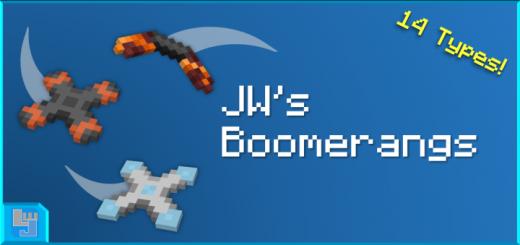 JW's Boomerangs Add-on [1.16.100 BETA]