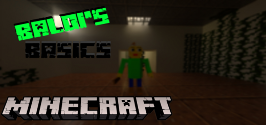 Minecraft Baldi's Basics Add-On