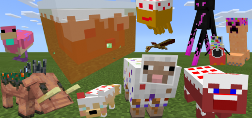 Minecraft Cake Mobs (Texture Pack)