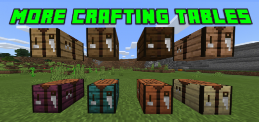 More Crafting Tables Addon (Updated)