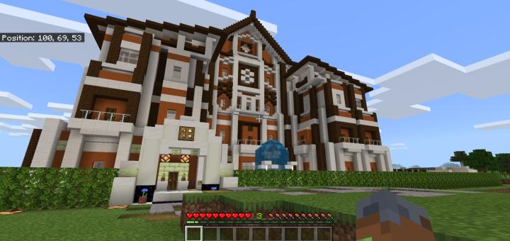 My Redstone Smart House V2 Redstone Minecraft Pe Maps