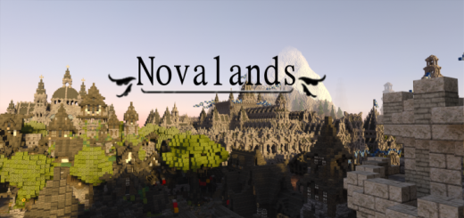Novalands (Bedrock, Kingdoms, PvP, RPG, Survival)