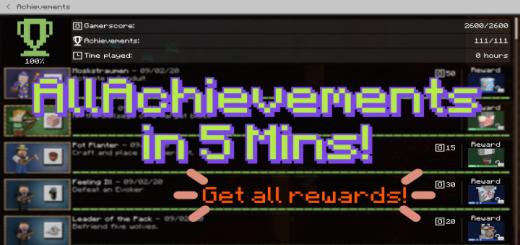 Rewarded Achievements World! | Get All Rewarded Achievements!